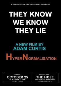HyperNormalisation - Poster / Capa / Cartaz - Oficial 1
