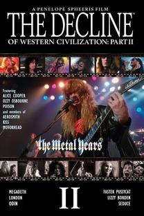 Os Anos do Heavy Metal - O Declínio da Civilização Ocidental - Poster / Capa / Cartaz - Oficial 4