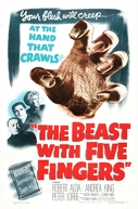 Os Dedos da Morte (The Beast with Five Fingers)