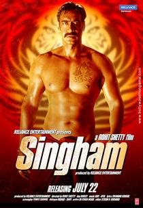 Singham - Poster / Capa / Cartaz - Oficial 3