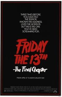 Sexta-Feira 13: Parte 4 - O Capítulo Final - Poster / Capa / Cartaz - Oficial 2