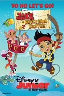Jake e os Piratas da Terra do Nunca (2ª Temporada)  - Poster / Capa / Cartaz - Oficial 1