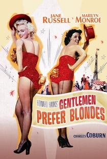 Os Homens Preferem as Loiras - Poster / Capa / Cartaz - Oficial 3
