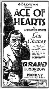 The Ace of Hearts - Poster / Capa / Cartaz - Oficial 1