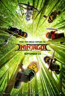 LEGO Ninjago: O Filme - Poster / Capa / Cartaz - Oficial 1