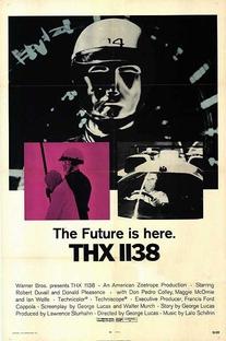 THX 1138 - Poster / Capa / Cartaz - Oficial 1