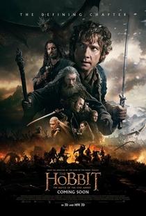 O Hobbit: A Batalha dos Cinco Exércitos - Poster / Capa / Cartaz - Oficial 2