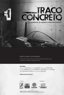 Traço Concreto - Poster / Capa / Cartaz - Oficial 1