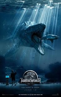 Jurassic World - O Mundo dos Dinossauros - Poster / Capa / Cartaz - Oficial 2