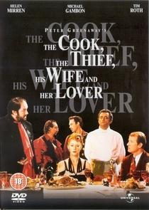 O Cozinheiro, o Ladrão, sua Mulher e o Amante - Poster / Capa / Cartaz - Oficial 1
