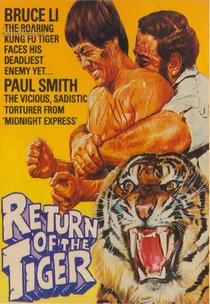O Retorno do Tigre - Poster / Capa / Cartaz - Oficial 4