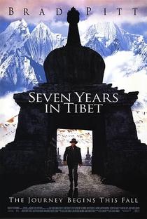 Sete Anos no Tibet - Poster / Capa / Cartaz - Oficial 5
