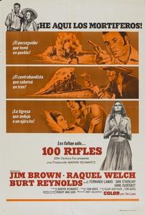 100 rifles - Poster / Capa / Cartaz - Oficial 3