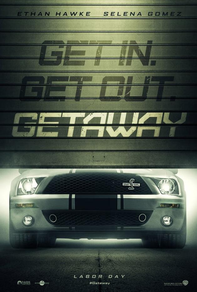 """Filem de ação com Selena Gomez e Ethan Hawke """"Getaway"""" ganha trailer e poster"""