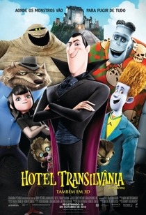Hotel Transilvânia - Poster / Capa / Cartaz - Oficial 1