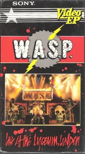 W.A.S.P. Live at the Lyceum, London - Poster / Capa / Cartaz - Oficial 1