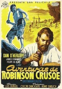 As Aventuras de Robinson Crusoé - Poster / Capa / Cartaz - Oficial 1
