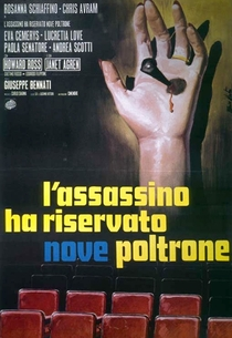 The Killer Reserved Nine Seats - Poster / Capa / Cartaz - Oficial 1