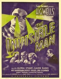 O Homem Invisível - Poster / Capa / Cartaz - Oficial 7
