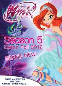 O Clube das Winx (5ª Temporada) - Poster / Capa / Cartaz - Oficial 2