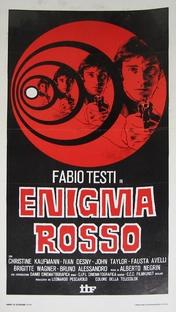 Enigma Rosso - Poster / Capa / Cartaz - Oficial 3