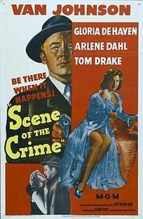 A Cena do Crime - Poster / Capa / Cartaz - Oficial 1