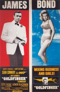 007 - Contra Goldfinger - Poster / Capa / Cartaz - Oficial 6