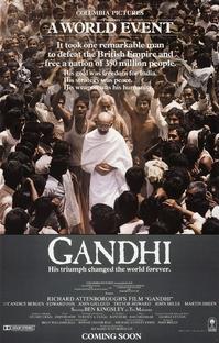 Gandhi - Poster / Capa / Cartaz - Oficial 1