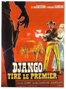 Django Atira Primeiro - Poster / Capa / Cartaz - Oficial 2