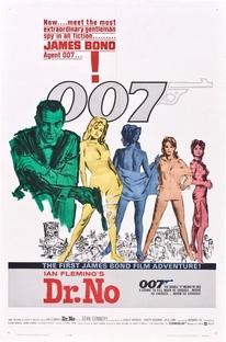 007 - Contra o Satânico Dr. No - Poster / Capa / Cartaz - Oficial 1