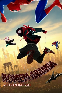 Homem-Aranha no Aranhaverso - Poster / Capa / Cartaz - Oficial 3