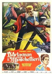 D'Artagnan Contra os Três Mosqueteiros - Poster / Capa / Cartaz - Oficial 2