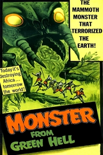 Monster From Green Hell - Poster / Capa / Cartaz - Oficial 1