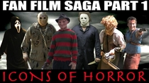 Fan Film Saga - Part 1 - Icons of Terror - Poster / Capa / Cartaz - Oficial 1