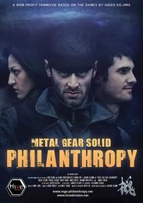 Metal Gear Solid Philanthropy - Poster / Capa / Cartaz - Oficial 1