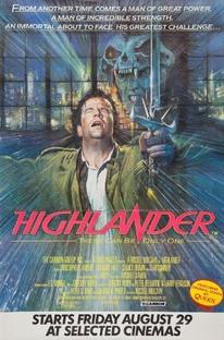 Highlander - O Guerreiro Imortal - Poster / Capa / Cartaz - Oficial 9