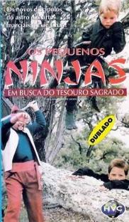 Os Pequenos Ninjas - Em Busca do Tesouro Sagrado - Poster / Capa / Cartaz - Oficial 2