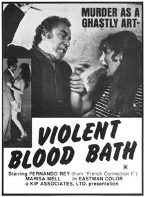 Violent Blood Bath - Poster / Capa / Cartaz - Oficial 2
