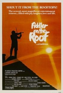 Um Violinista no Telhado - Poster / Capa / Cartaz - Oficial 2