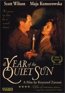 O Ano do Sol Tranquilo - Poster / Capa / Cartaz - Oficial 2