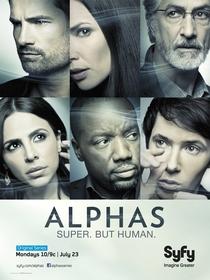 Alphas (2ª Temporada) - Poster / Capa / Cartaz - Oficial 1
