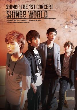 "SHINee The 1st Concert In Tokyo ""SHINee WORLD"""
