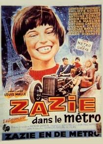 Zazie no Metrô - Poster / Capa / Cartaz - Oficial 4