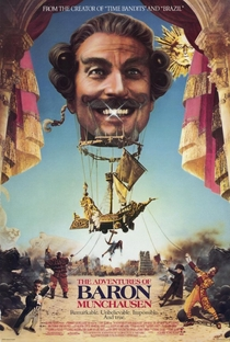 As Aventuras do Barão Munchausen - Poster / Capa / Cartaz - Oficial 1