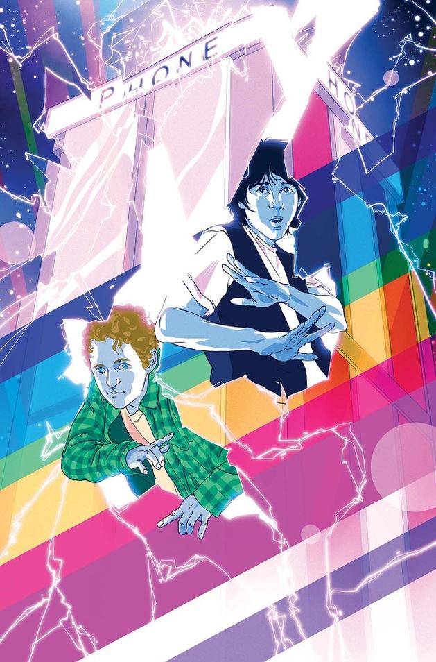 Bill & Ted: dupla de viajantes do tempo retornará em minissérie em quadrinhos