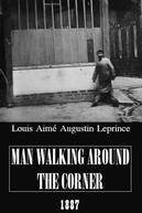 Man Walking Around the Corner
