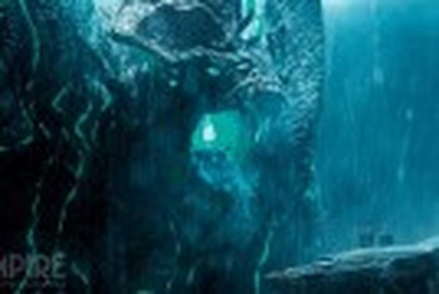 """Tráfego de órgãos dos monstros Kaiju em novo vídeo de """"Círculo de Fogo"""""""