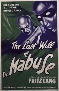 O Testamento do Dr. Mabuse - Poster / Capa / Cartaz - Oficial 10