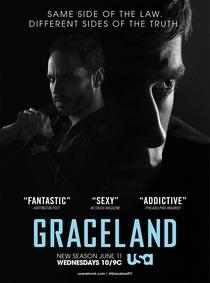 Graceland (2ª Temporada) - Poster / Capa / Cartaz - Oficial 1