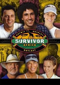 Survivor: Africa (3ª Temporada) - Poster / Capa / Cartaz - Oficial 1